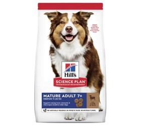 Hill's MATURE MEDIUM LAMB & RICE