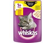 Whiskas CREAMY SOUPS ПИЛЕШКО