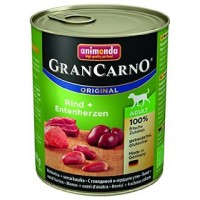 Animonda GRAN CARNO ADULT BEEF + DUCK HEARTS