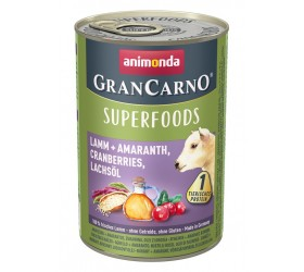 Animonda GRAN CARNO ADULT SUPERFOODS LAMB