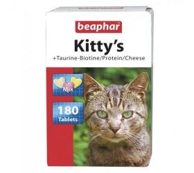 Beaphar KITTY'S TAURINE-BIOTINE/PROTEIN/CHEESE