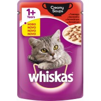 Whiskas CREAMY SOUPS ГОВЕЖДО