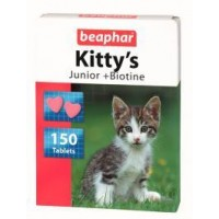 Beaphar KITTY'S JUNIOR TAURINE + BIOTINE