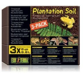 Exo Terra PLANTATION SOIL X3
